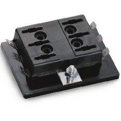 ATO/ATC Ganged Fuse Block for 6 Fuses