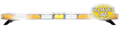 Whelen Liberty II Amber/White IX Low Current Lightbar