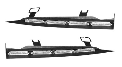 SoundOff Signal nFORCE Single and Full Tri-Color Interior Lightbar