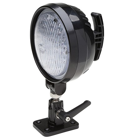 Whelen PAR-36 Round Super-LED Work Light with Pedestal/ Swivel Mount