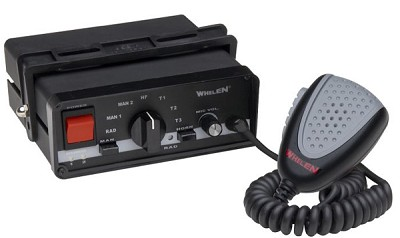 Whelen Hands-Free Siren with 17 Scan-Lock Siren Tones