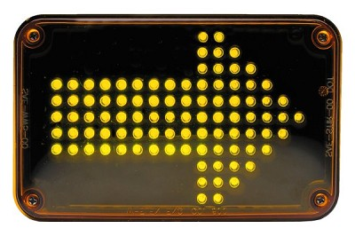 Whelen 600 Series Super-LED Amber Turn