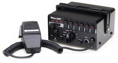 Whelen Epsilon Siren with 9 Function Switchbox