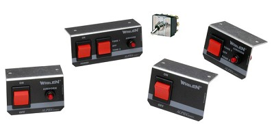 Whelen Remote Switches for Alpha Sirens